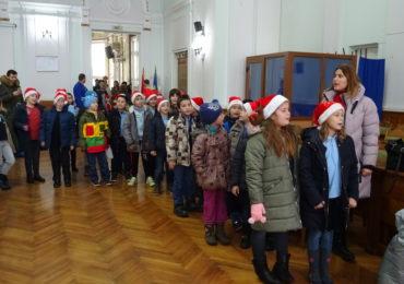Colindatori la Primaria Oradea