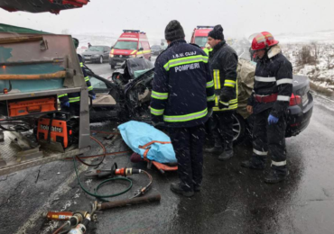 accident mort leghia cluj