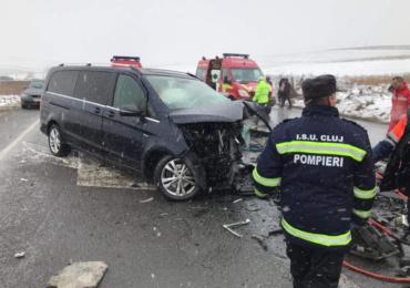 accident mortla DN1 leghia