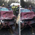 Cauzele producerii accidentului fatal de pe DN76, din aceasta dimineata. Precizari IPJ Bihor