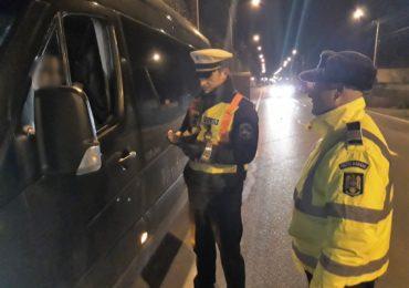 Acțiunea TRUCK & BUS. Transportul public de persoane si de marfuri verificat la sange de politistii bihoreni