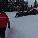 Doi turisti rataciti in zona Vartop. Salvamont avertizeaza asupra pericolului de avalanse