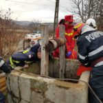 Un barbat din Abram salvat de la inec, de pompierii bihoreni, dupa ce acesta a cazut in fantana din curtea casei