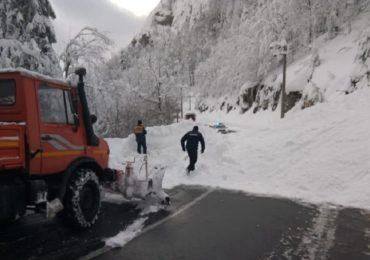 ISU Bihor: Vom detona zapada de pe versanti, intre km 22 si 25 de pe DN 75