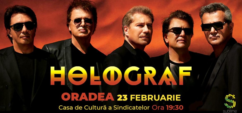 Holograf revine la Oradea cu un nou concert extraordinar
