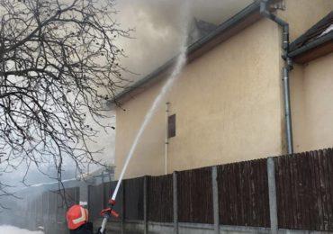 Incendiu puternic centru de plasament oradea