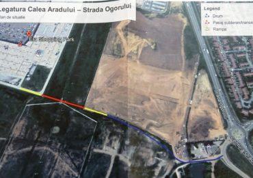 Oradea va construi o sosea noua, semi-ingropata, ce va lega DN79 Oradea-Arad si Centura Oradea.