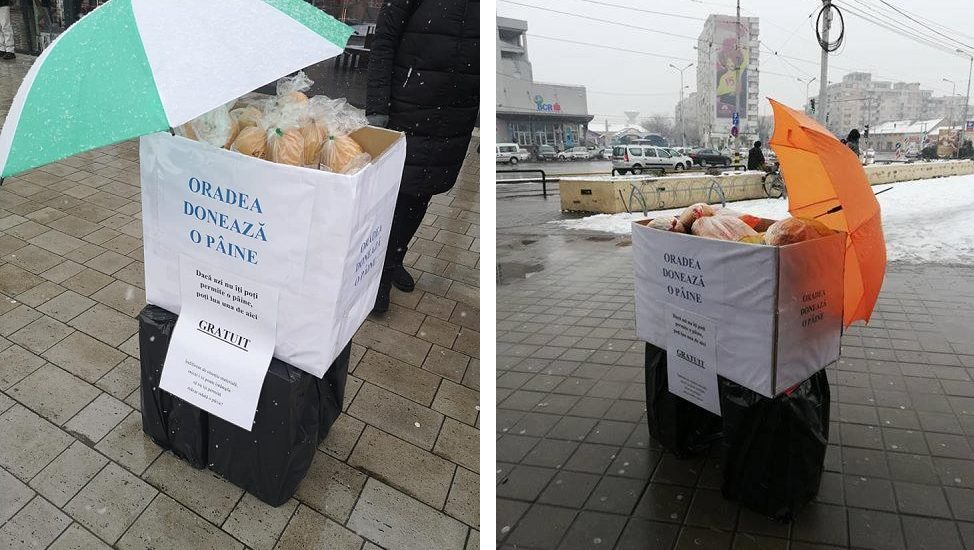 """19 martie, o noua actiune """"Oradea doneaza o paine"""" in patru locatii din Oradea"""