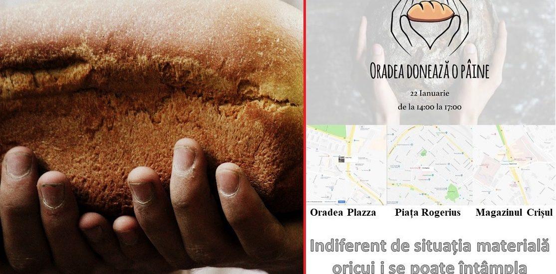 Oradea doneaza o paine! Oradeni cu suflet mare, pentru oradeni cu nevoi mari.