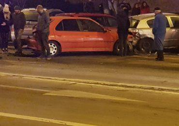 accident 6 masini stefan ce mare