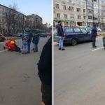 Accident grav pe Decebal, in Oradea. O femeie ce a traversat neregulamentar a ajuns la spital, dupa ce a fost lovita de o masina
