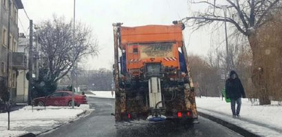 Primaria Oradea: In Oradea se circula in conditii bune, chiar daca ninge abundent