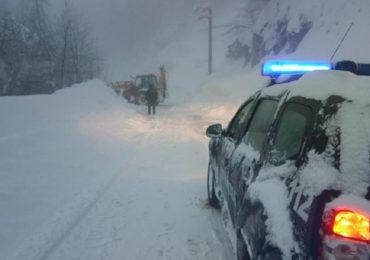 DN 75 se inchide in localitatea Baita, din cauza riscului crescut de avalanse