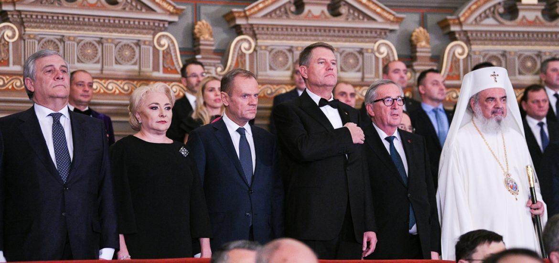 România a preluat şefia Consiliului UE. Donald Tusk: Aparati fundamentele civilizaţiei noastre, statul de drept si democratia