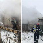Incendiu puternic in Cadea, judetul Bihor. Din fericire, nu au existat persoane ranite.