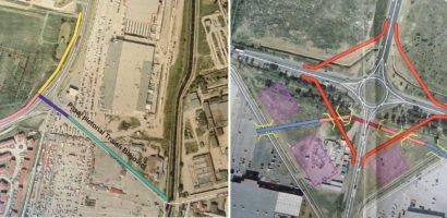 Ce solutii a gasit Primaria Oradea pentru accesul pietonal la Era Park si Piata 100