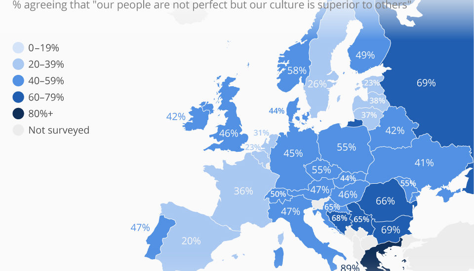 Romania este printre tarile cu cea mai mica toleranta culturala