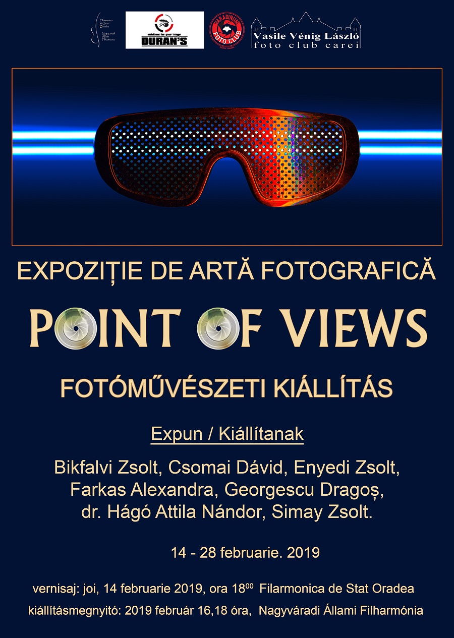Afis Point of views-Oradea