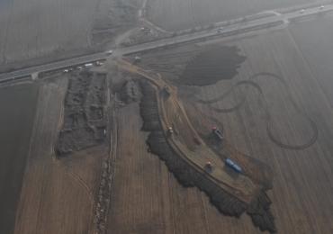 Au inceput lucrarile la autostrada A3 Bors-Biharia (FOTO+VIDEO)