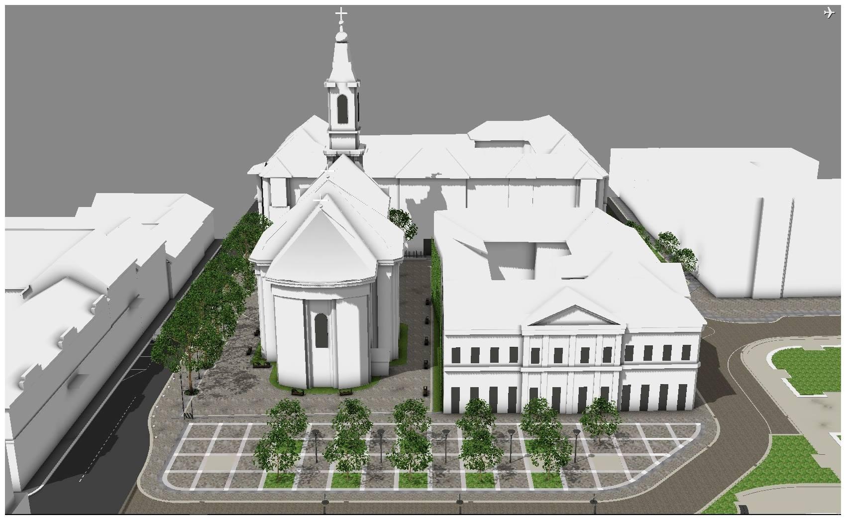 Biserica Sfantul Nicolae Oradea pietonala