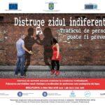 Distruge zidul indiferenţei! Traficul de persoane poate fi prevenit.