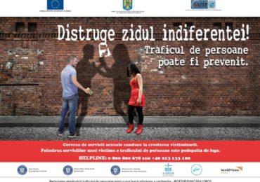 A fost lansata campania naţională de prevenire a traficului de persoane în scopul exploatării sexuale (VIDEO)