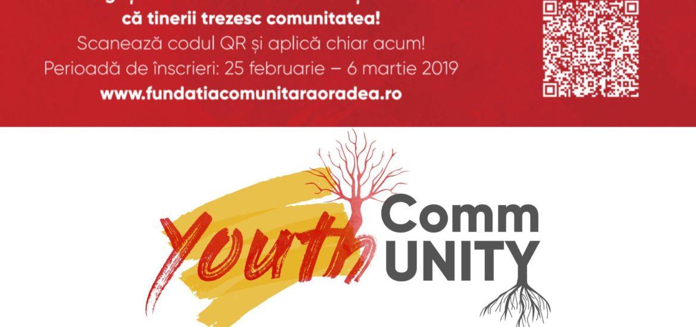 Youth CommUNITY: Tinerii cu inițiativă sunt invitați să se asocieze pentru a evolua și a dezvolta comunitatea, împreună