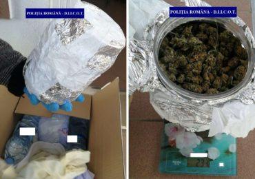 Politistii antidrog au prins in flagrant doi tineri din Beius, banuiti ca faceau trafic cu cannabis
