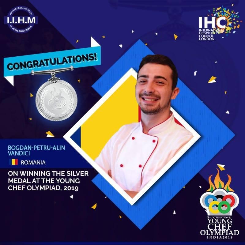 finalist young cheif olimpyad india 2019 Bogdan vandici
