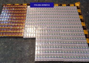 Oradean prins, pe strada Seleusului cu 900 de pachete de tigari nemarcate legal