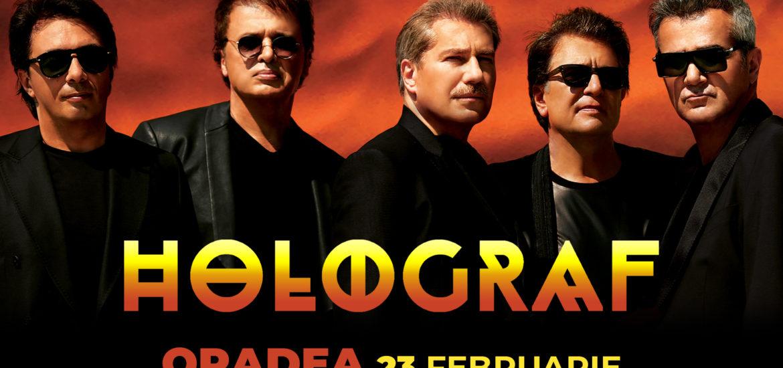 Concert Holograf in Oradea, sambata 23 februarie la Teatrul Regina Maria