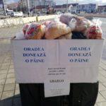 """Proiectul """"Oradea doneaza o paine"""" continua cu editia a VIII-a, painile ramase vor ajunge la centrul Dumbrava"""