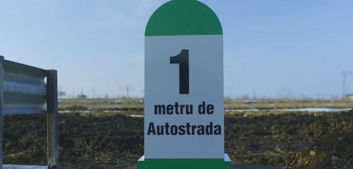 Un om de afaceri din Suceava a construit, din bani proprii, primul metru de autostrada din Moldova  (Foto/Video)