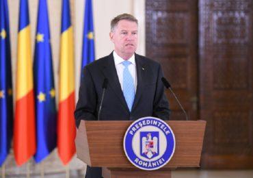 Presedintele Klaus Iohannis a anuntat ca pe 26 mai va convoca un referendum