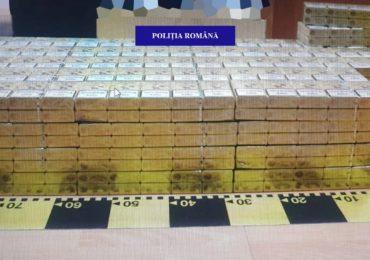 Un barbat din Tileagd prins in flagrant cu aproape 1.000 de pachete de tigari, in timp ce era deja cercetat pentru aceeasi fapta
