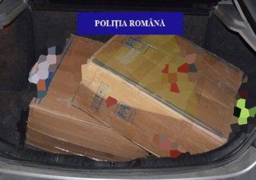Oradean depistat in trafic in timp ce transporta 1000 de pachete de tigari nemarcate legal