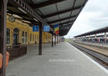 Modificari in orarul circulatiei unor trenuri pe teritoriul judetului Bihor.