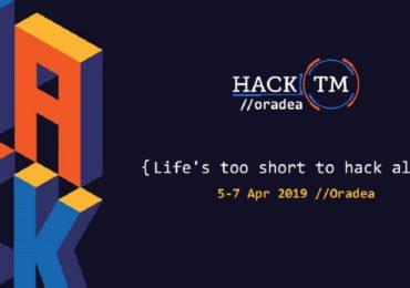 HackTM, cel mai mare concurs de IT din România, se va desfășura anul acesta la Oradea în perioada 5 – 7 aprilie.