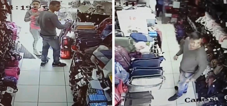 Ii cunoasteti? Doi tineri surprinsi la furat de camerele video, intr-un magazin din Oradea (VIDEO)