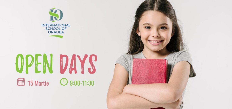 Esti curios cum arata o scoala particulara? Pe 15 martie Ziua portilor deschise la International School of Oradea.