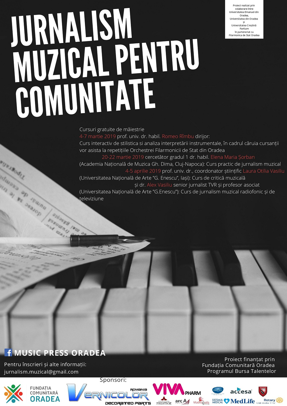 Jurnalism muzical pentru comunitate