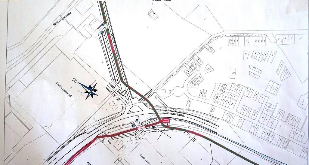 Pasaj pietonal de 300 de m in zona Auchan-Leroy Merlin-Piața 100