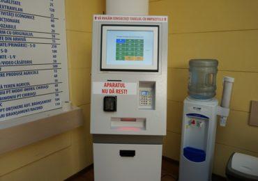 Primaria Oradea introduce automatul SelfPay pentru taxe si impozite