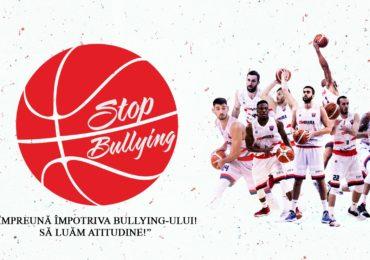 """Baschetbalistii de la CSM Oradea s-au alaturat campaniei """"Împreună împotriva bullying -ului! Să luăm atitudine!"""""""