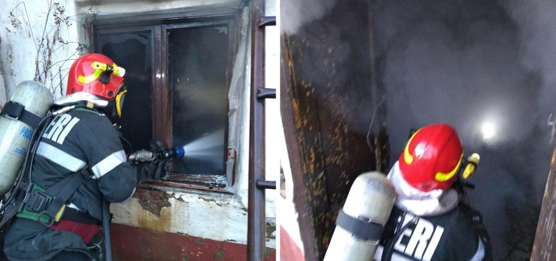 Incendiu la o locuință din Salonta. A ars aproape tot acoperisul casei