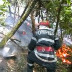 13 incendii de vegetație uscată produse în interval de 10 ore in judetul Bihor