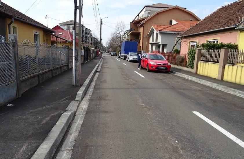 Alte trei strazi din Oradea sunt in curs de modernizare (FOTO)