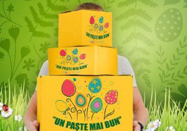 """Campania """"Un Paște mai bun"""". 10.000 de familii se vor bucura de sărbătorile pascale"""