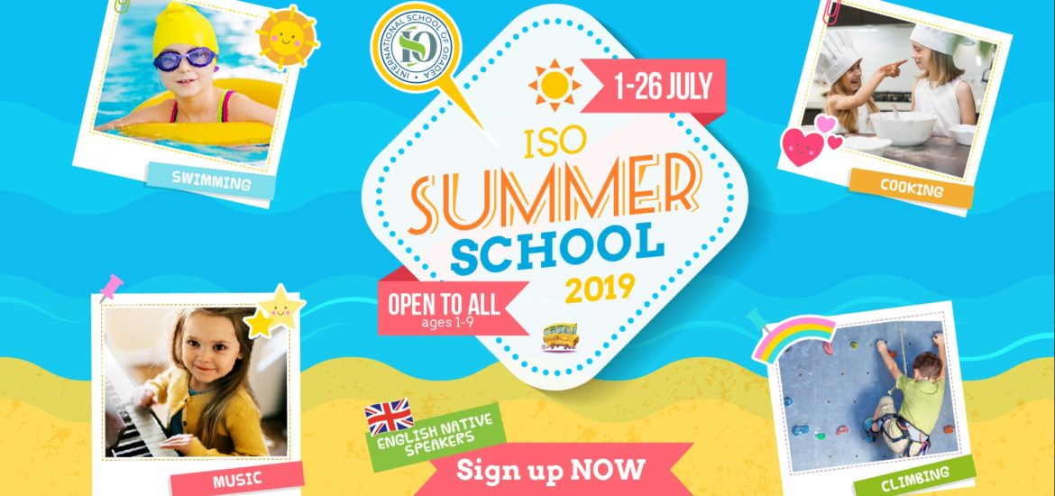 Summer School 2019 la International School of Oradea