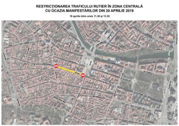 Restrictii circulatie Oradea